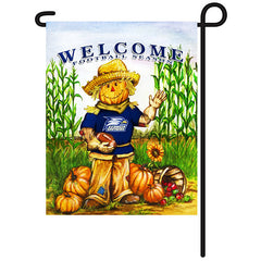Georgia Southern Eagles Fall Scarecrow Garden Flag