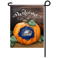 Georgia Southern Eagles Fall Pumpkin Garden Flag