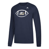 Georgia Southern Eagles adidas Climalite NAVY Long Sleeve Shirt
