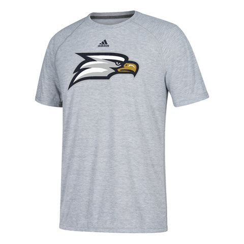 Georgia Southern Eagles Secondary Logo adidas Heather Gray Shirt
