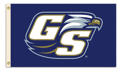 Georgia Southern Eagles 3Ft X 5Ft Flag with Grommets Blue GS Logo