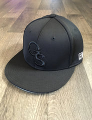 Black on Black Cole Swindell GA Southern Baseball Cap - Officially Licensed