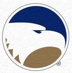 Georgia Southern Eagles Circle Academic Logo Embroidered Velcro Patch