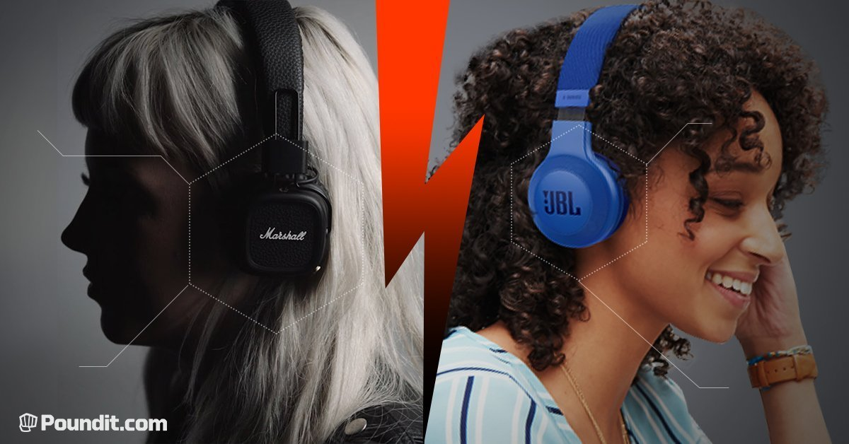Head to Head: JBL E45BT vs. Marshall Major II Bluetooth Headphones