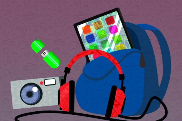 Six Great Ways to Pack Your Gadgets