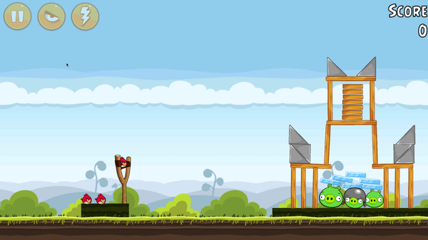 Angry Birds on Remix Mini