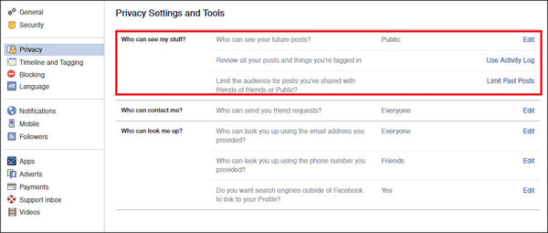 Facebook Security Tip 2