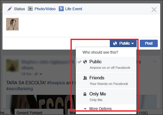 Facebook Security Tip