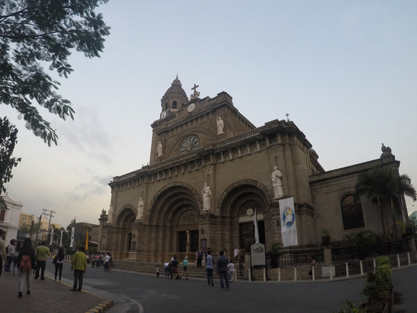 Manila Cathedral - Shot using GoPro Hero4 Silver - YouPoundit