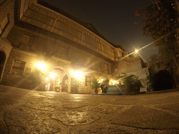Casa Manila at Night