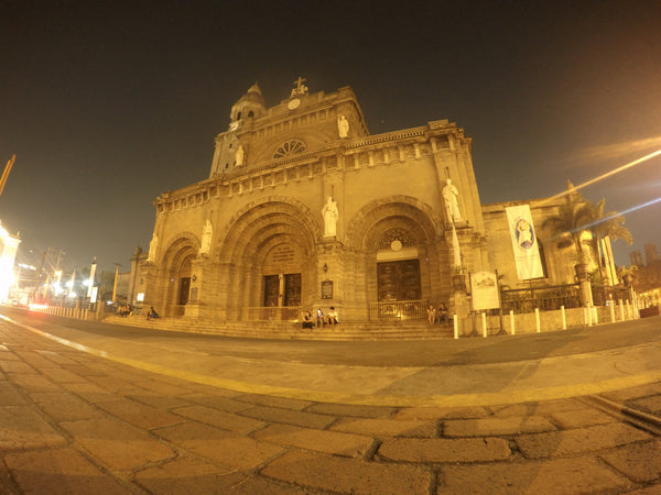 Manila Cathedral - Shot using GoPro Hero4 Silver - YouPoundit Review