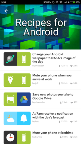 IF by IFTTT App 2