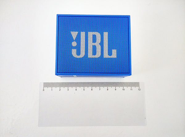 JBL Go with Ruler