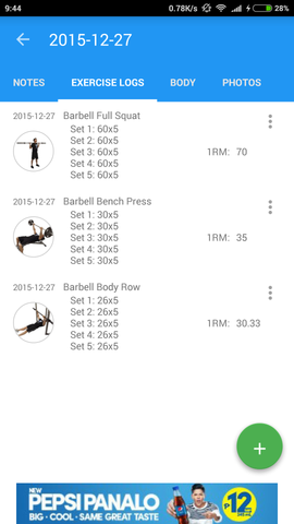 Jefit Workout App 2