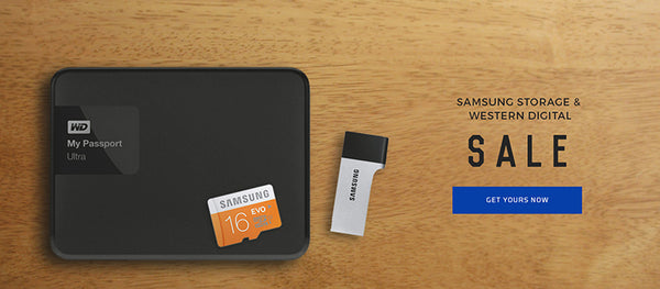Samsung x Western Digital Storage Sale on YouPoundit