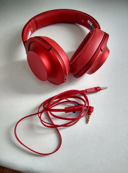 Sony MDR-100AAP Headphones with detached cable