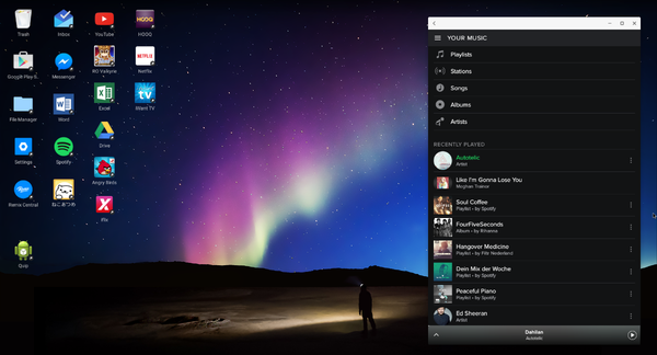 Spotify on Remix OS