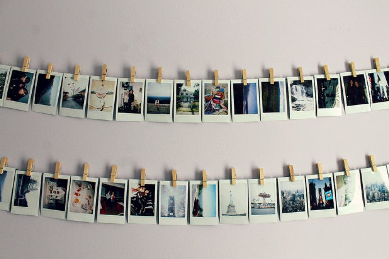 instax wall ideas