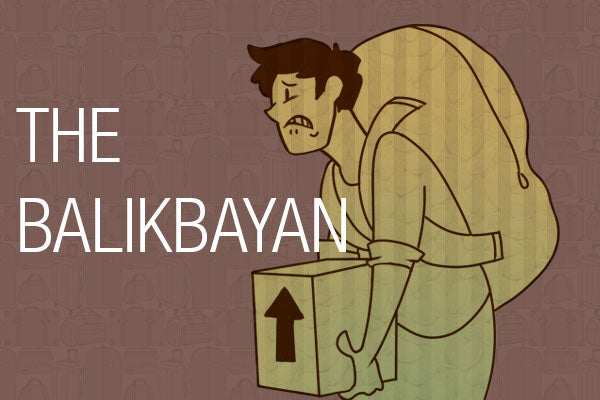 5 Types of Travelers - The Balikbayan