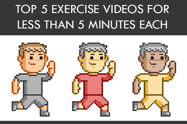 Top 5 Exercise Videos Under 5 Minutes
