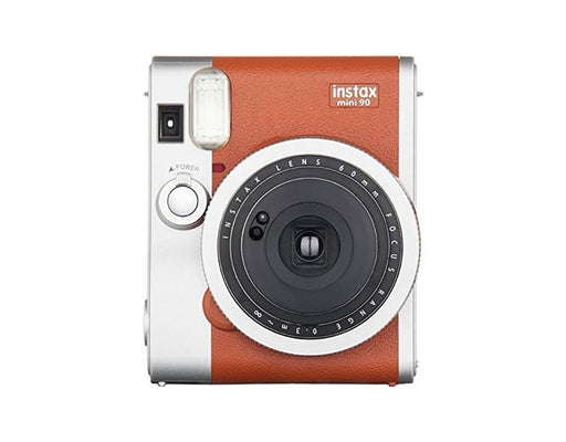 Fujifilm Instax Mini 90 Instant Film Camera - Brown - Poundit