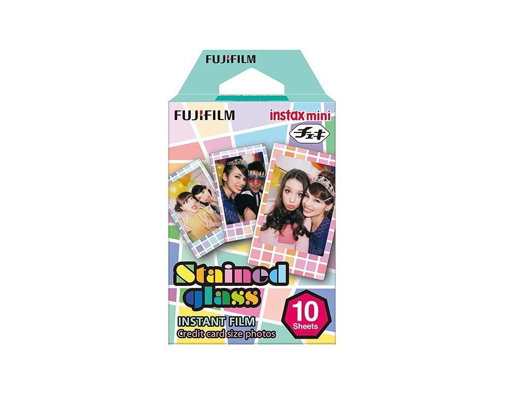 Fujifilm Instax Mini Film (Stained Glass) - Poundit