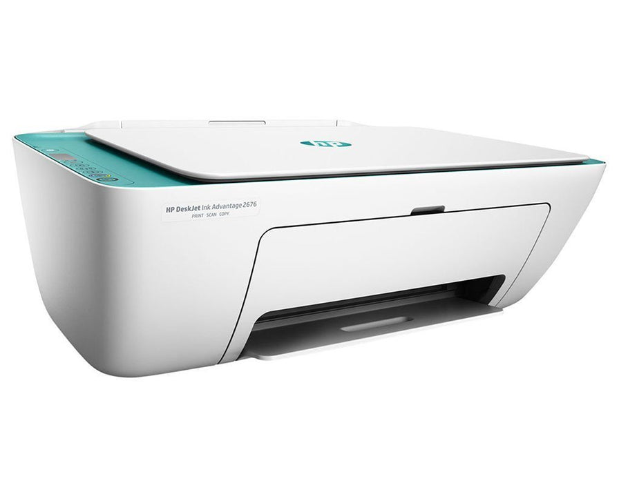 HP DeskJet Ink Advantage 2677 Printer- Print, Copy, Scan, Wireless ...