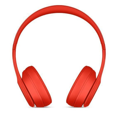 Headphones - Beats Solo3 Wireless On-Ear Headphones – Citrus Red - YouPoundit - 2