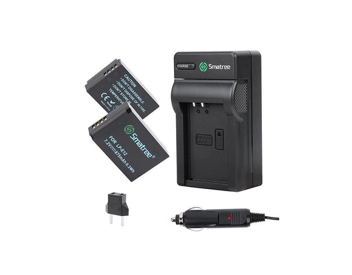 Smatree Canon LP-E12 Battery + Travel Charger Kit
