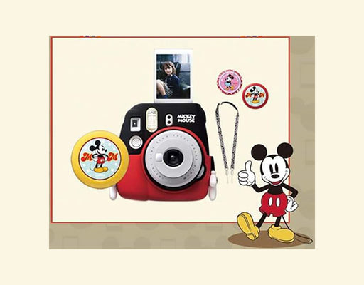 Fujifilm Instax Mini 9 Mickey Mouse Package