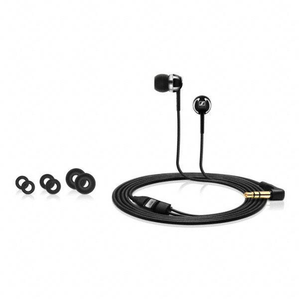 Sennheiser CX 1.00 Earphones Black - Poundit