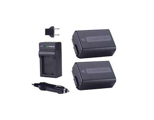 Smatree Sony NP-FW50 Battery + Wall/Car/Travel Charger Kit