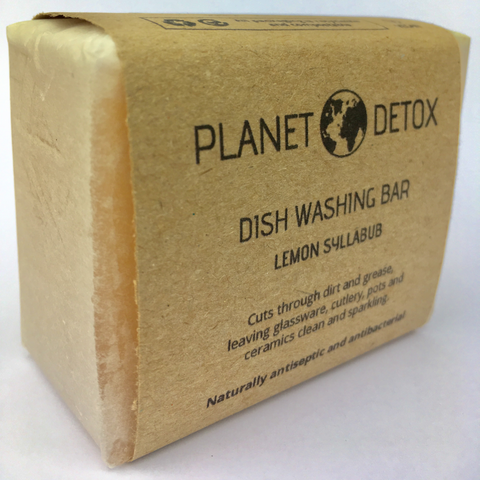Vegan Lemon Dish Washing Soap Bar