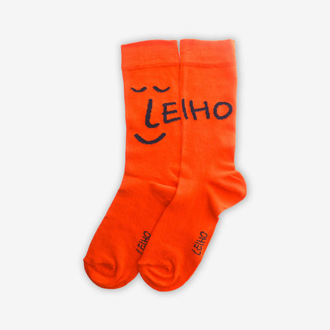 Orange You Kind Bamboo Socks