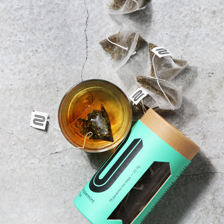 Peppermint Plastic Free Tea Bags