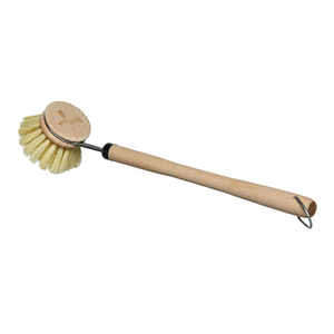 Wooden Dish Brush with Replaceable Brush Head