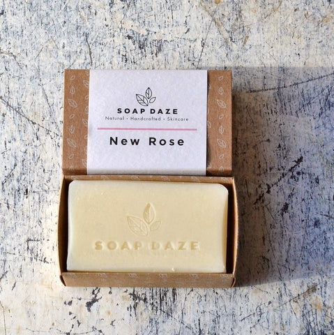 New Rose Vegan Soap Bar