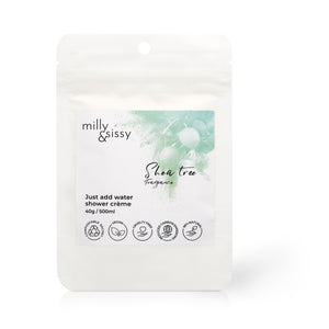 Zero Waste Shower Crème Sachet - Shea Tree