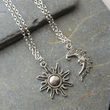 Sun Moon Necklace Chain