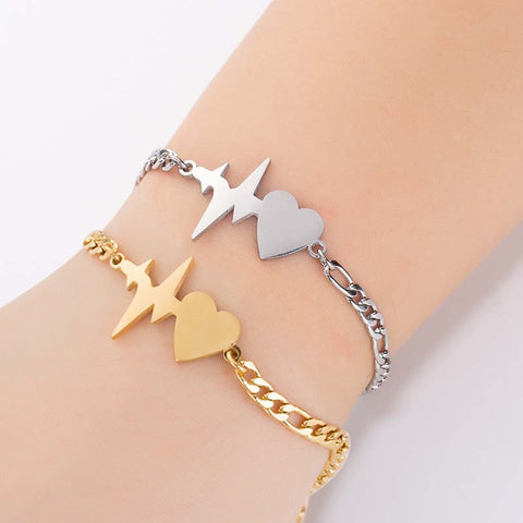 Beating Heart Shape Bracelet