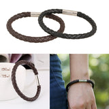 Vintage Personalized PU Braided Leather Bracelet