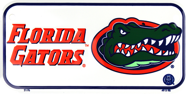 2175 - Florida Gators Bike Plate