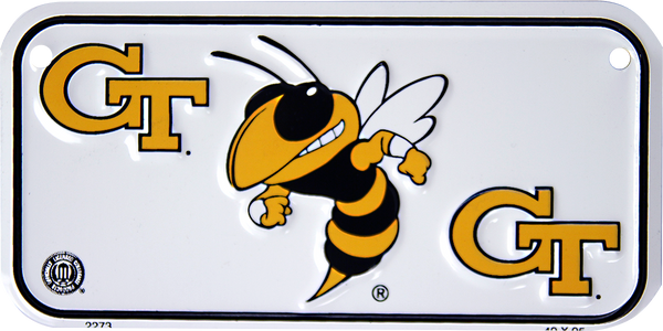 2273 - Georgia Tech Yellow Jackets Bike Plate