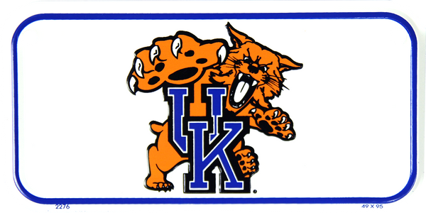 2276 - Kentucky Wildcats Bike Plate