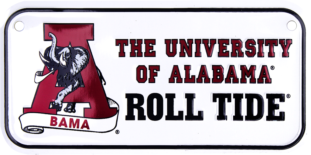 2300 - Alabama Roll Tide Bike Plate