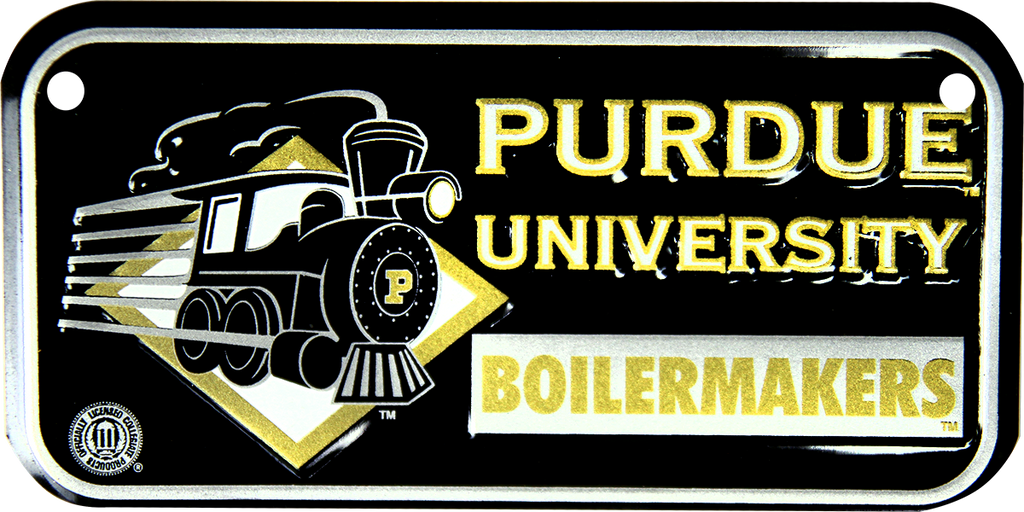 2306 - Purdue Boilermakers Bike Plate