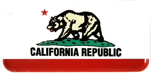 2321 - California State Bike Plate
