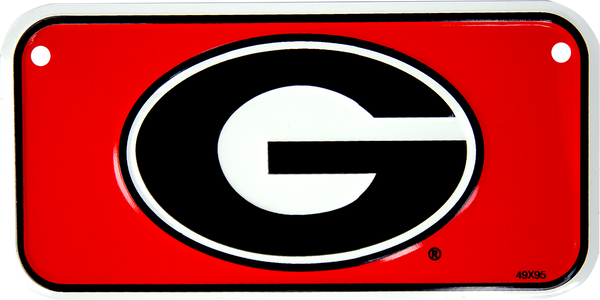 2322 - Georgia Bulldogs Bike Plate