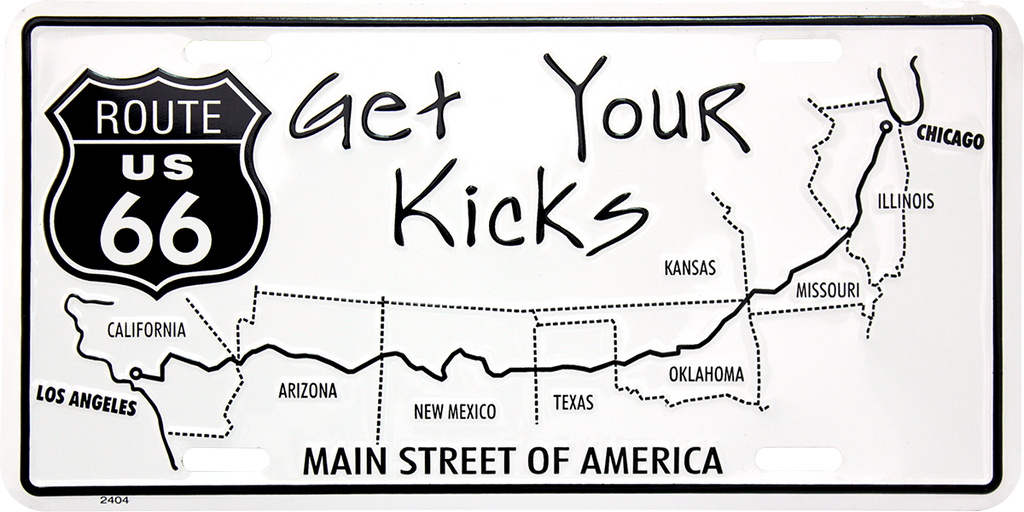 Historic Route 66 California Map.Route 66 Hangtime