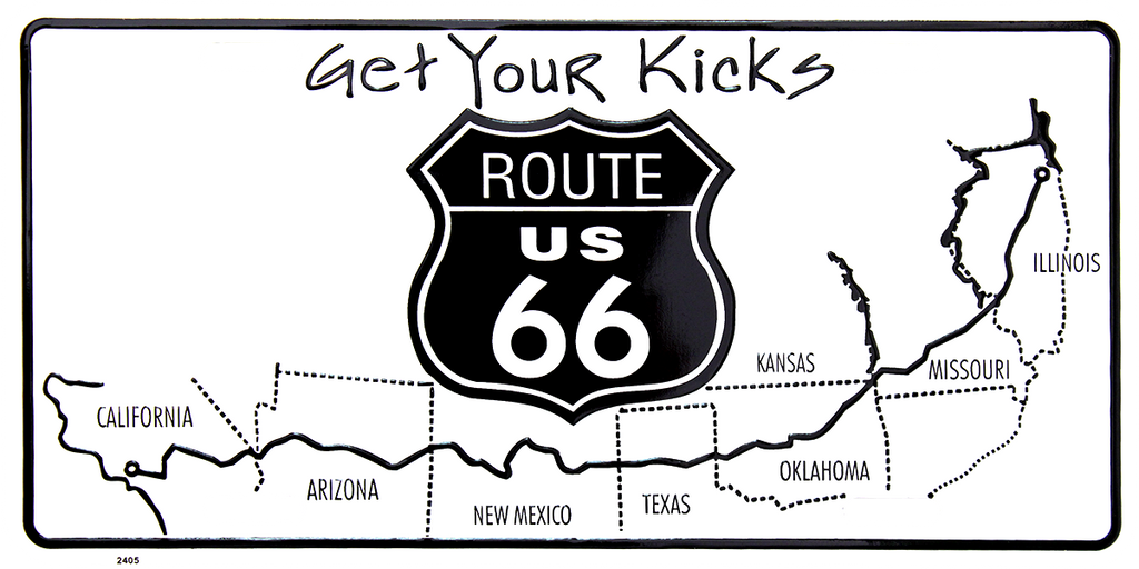2405 - Route 66 Map